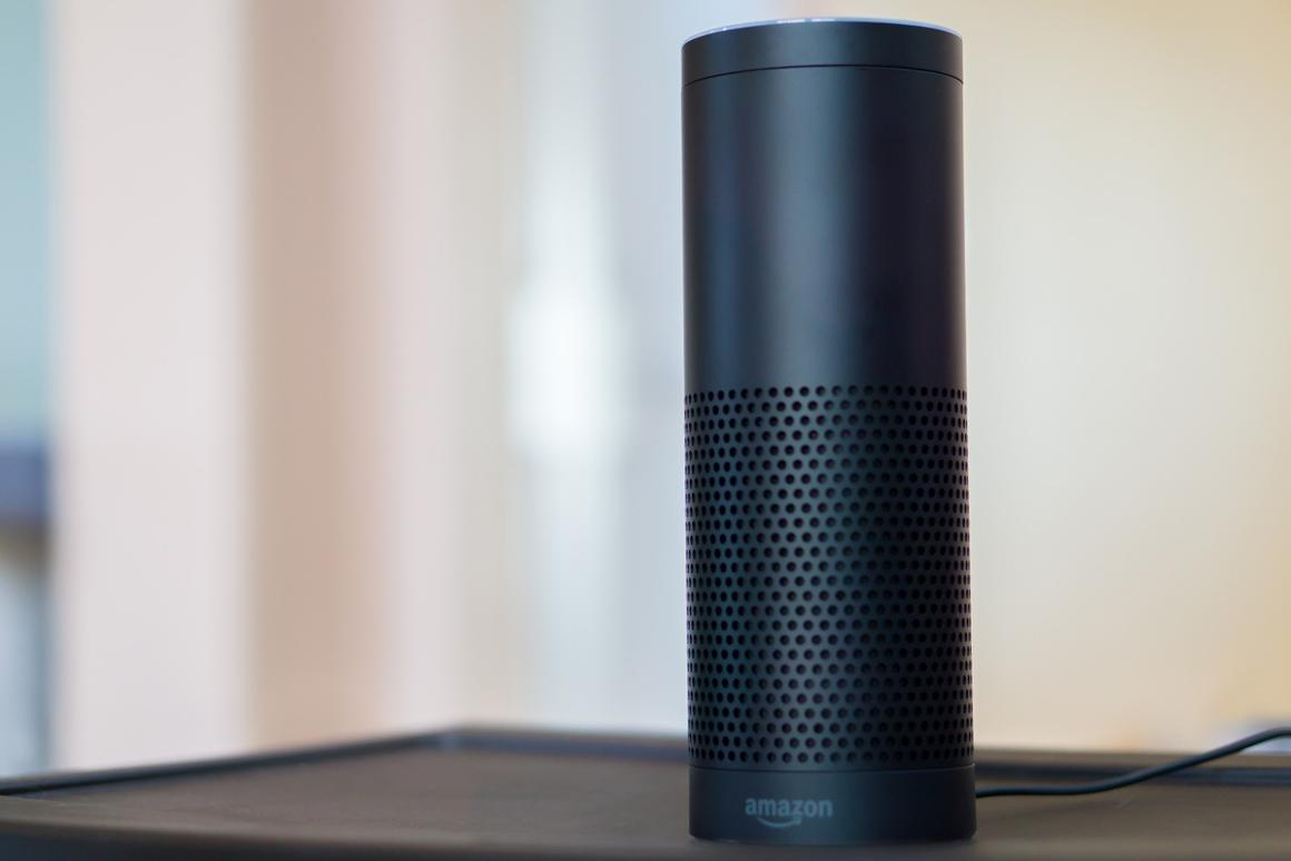 Gizmag reviews the Amazon Echo, a device that combines a speaker with an intelligent virtual assistant