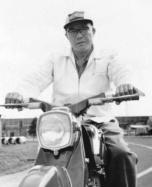 An indomitable spirit - Soichiro Honda