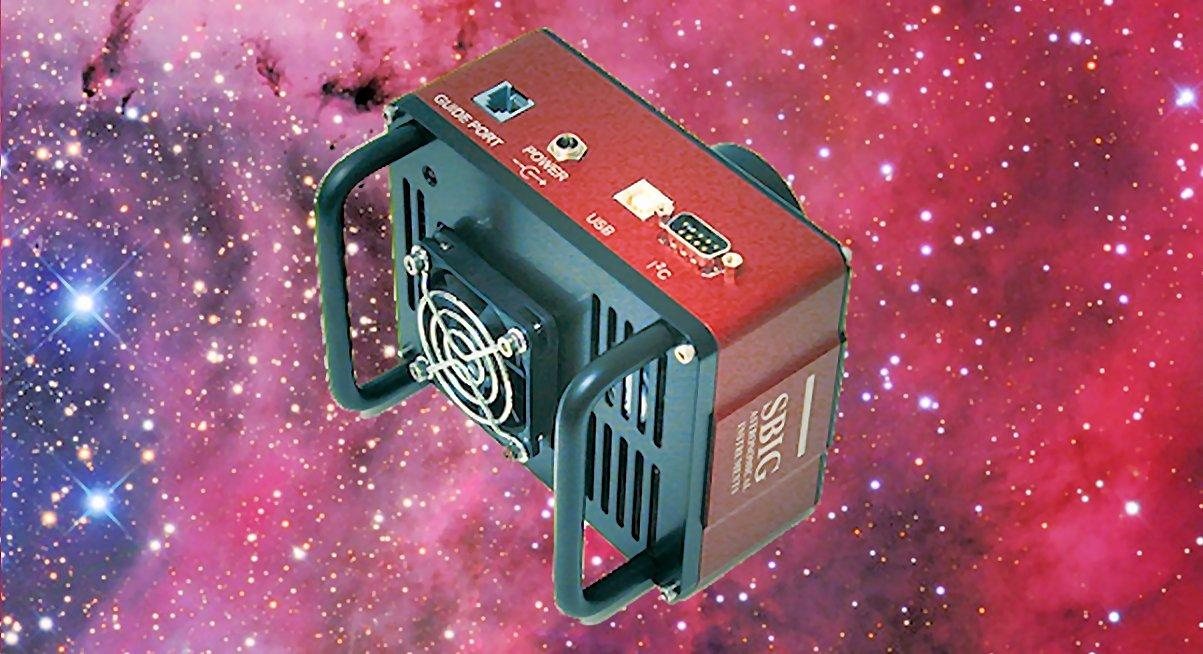 SBIG's new STT-8300 cooled CCD astrocamera