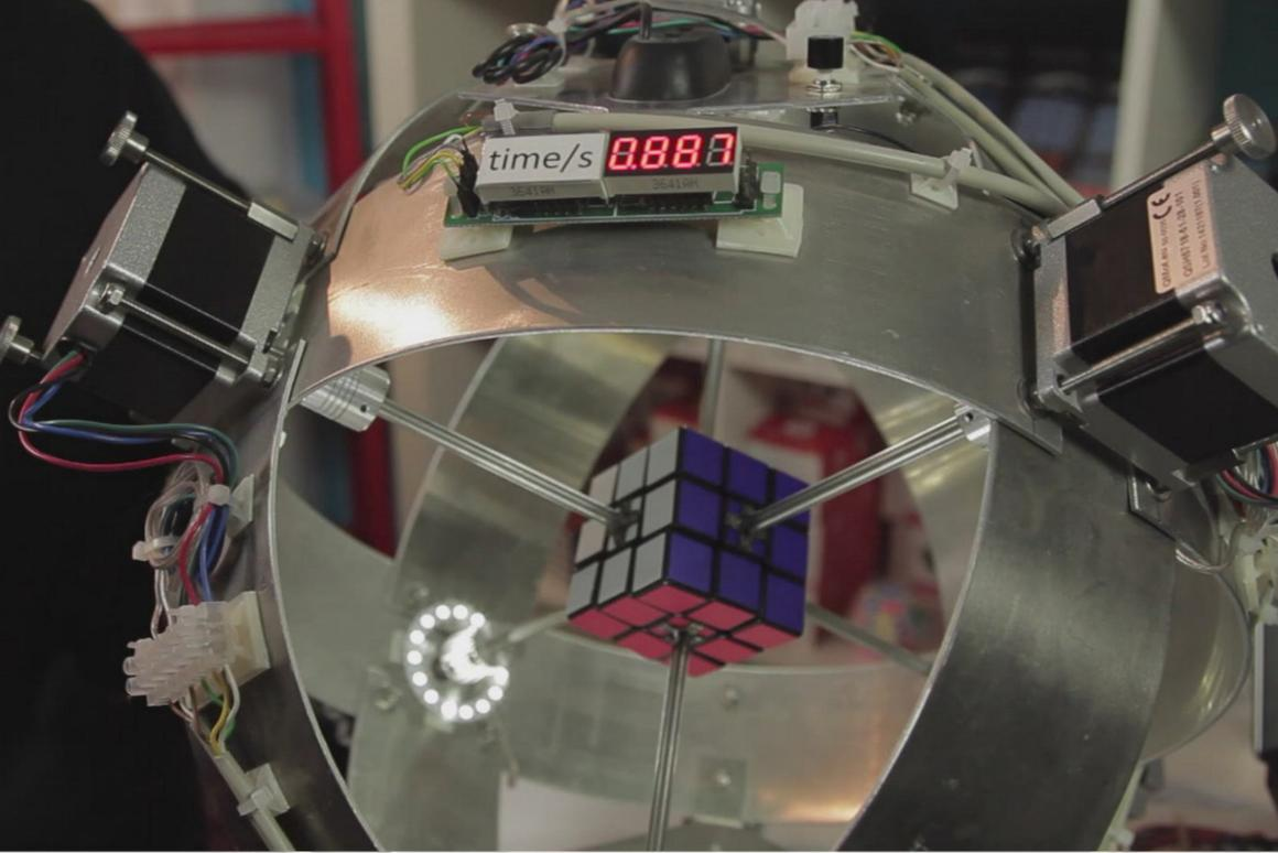 Sub1 solves the Rubik's Cube in under a second