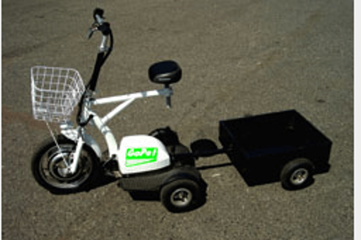 The GoPet comes with basket and optional trailer - ideal for shopping or long days out