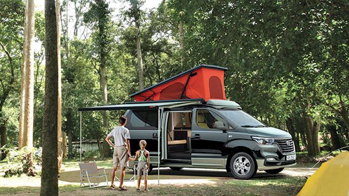 Hyundai's Grand Starex camper van