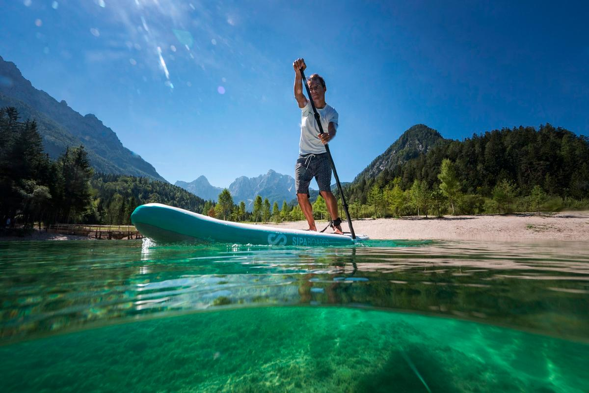 The idea behind the Air line is to eliminate obstacles that stand between paddlers and the water
