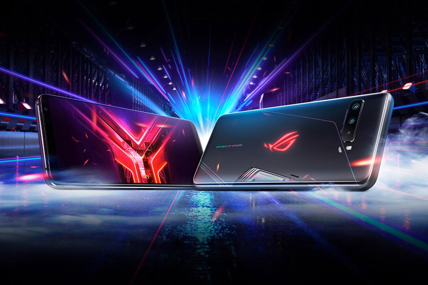 The third incarnation of Asus' gaming phone is here