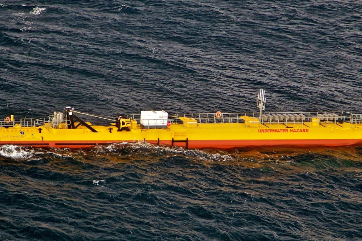 The SR2000tidal stream turbine prototype has notched up 12 months of continuous operation at theEuropean Marine Energy Centre in Orkney, Scotland