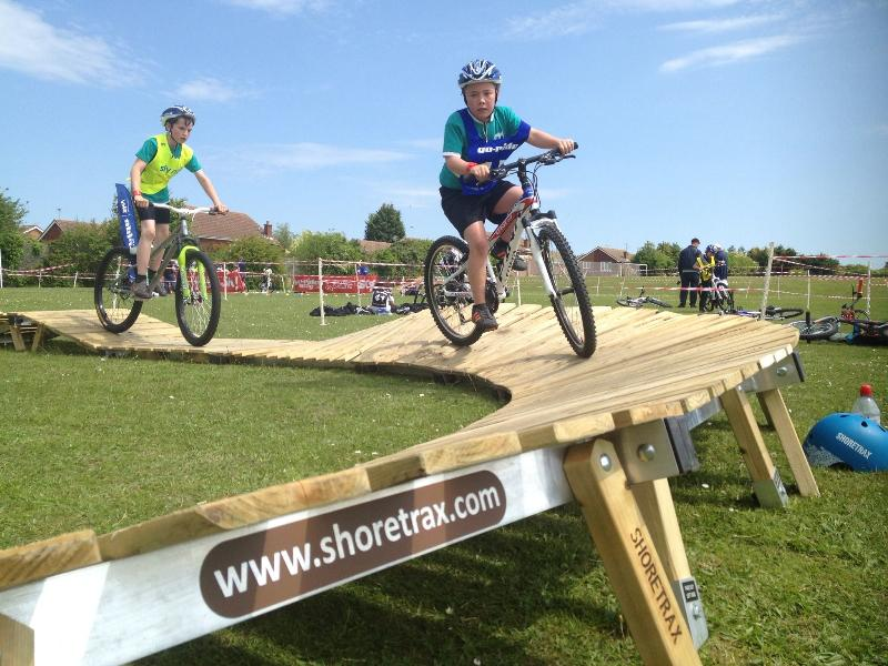 Shoretrax can be taken to schools for instructional programs