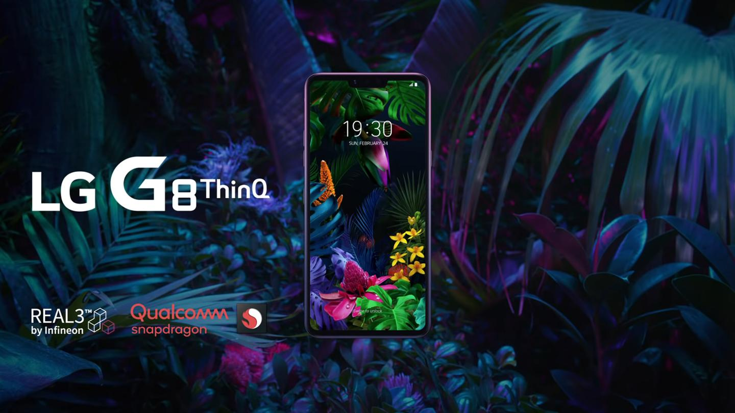 The LG G8 ThinQ leads the charge for LG's 2019 flagships