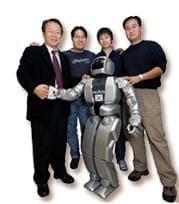 Professor Jun-Ho Oh, HUBO and the Ph.D team that built him.