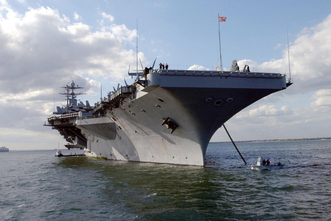 The 3D-printed valve will be installed on the USS Harry S. Truman (CVN 75)