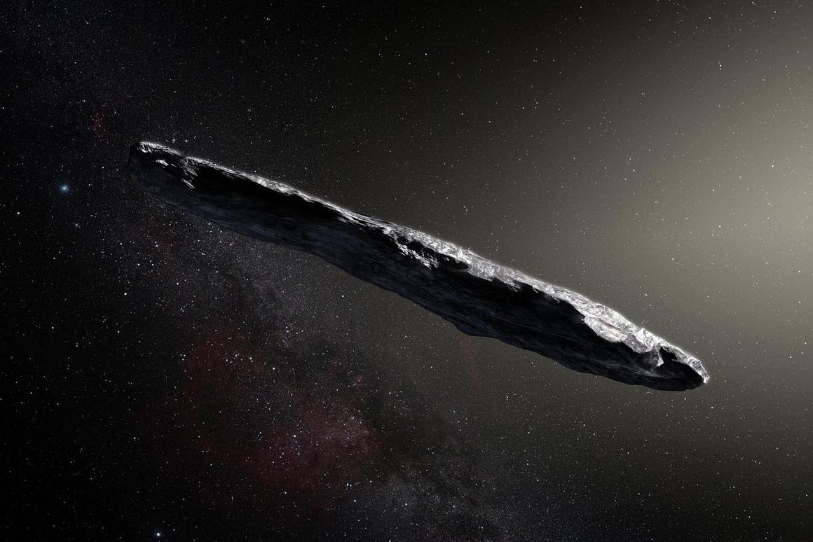 `Oumuamuais the first observed interstellar object to enter the Solar System