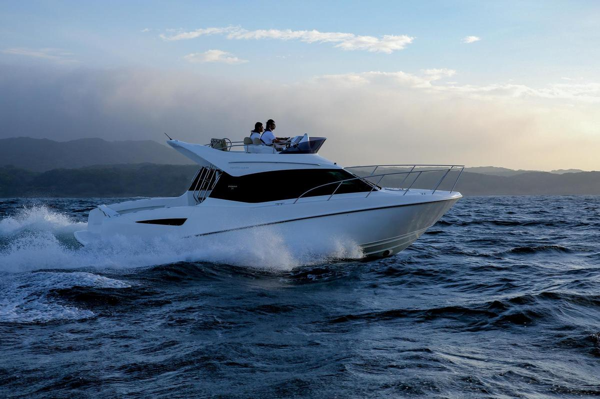 The Ponam-31 is Toyota's latest boat
