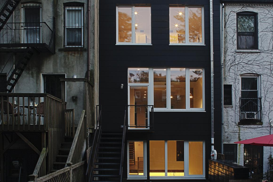 Tighthouse is a refit of an existing NYC row house (Photo: Hai Zhang)