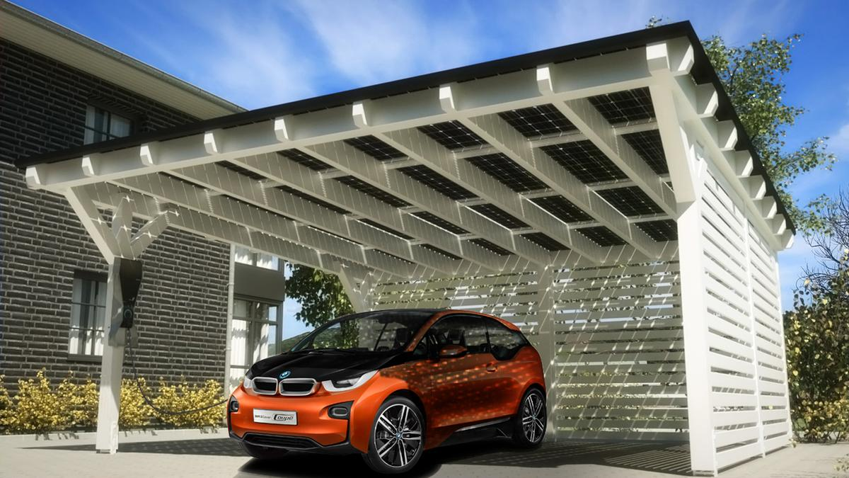 The SOLARWATT Carport System