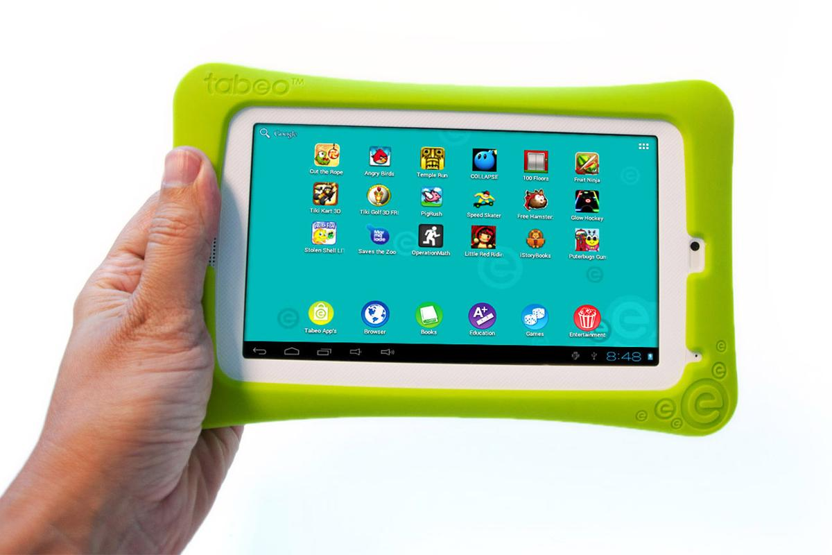 Tabeo includes integrated parental controls which can limit when the device is used, and for what