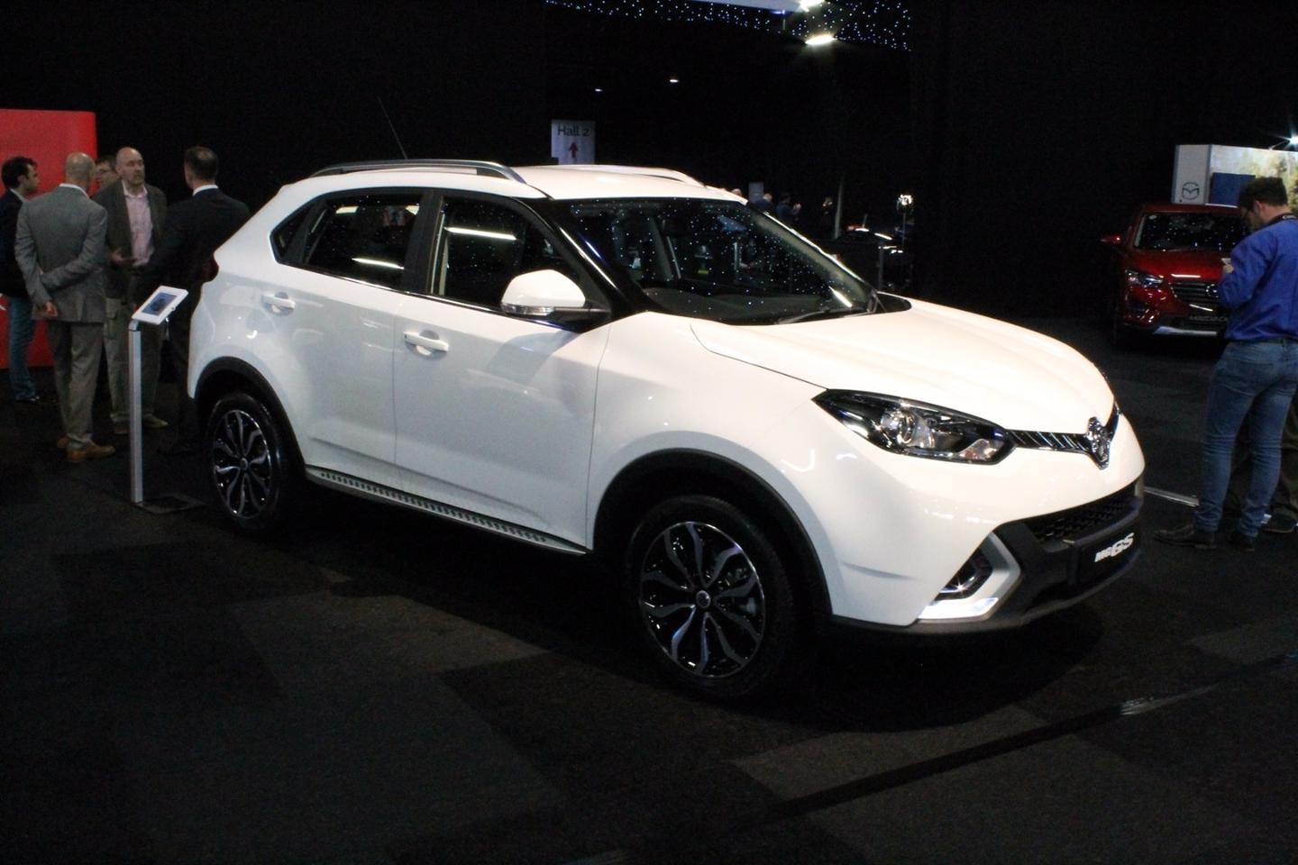 The MG GS will be available to UK buyers at the start of June