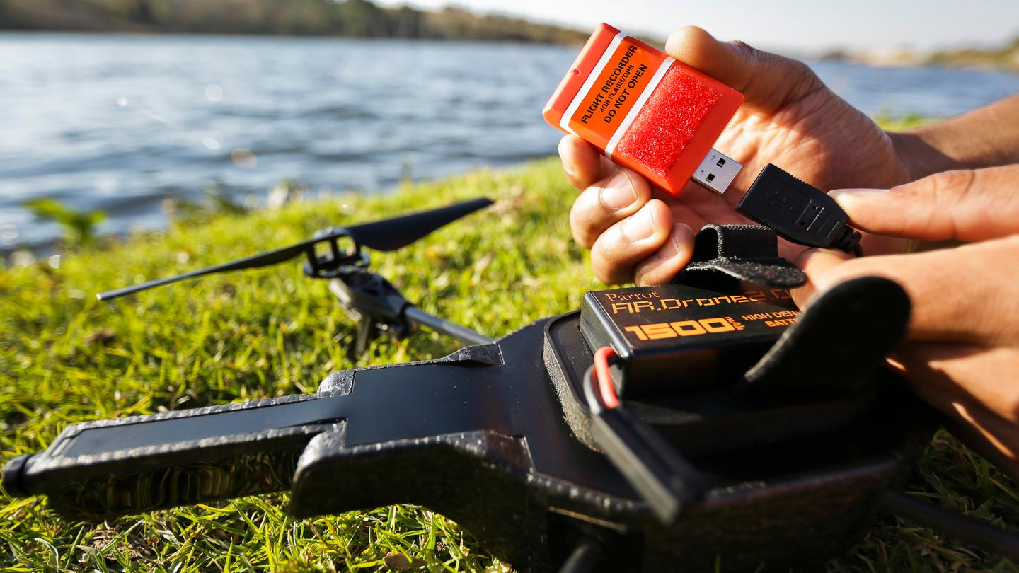 Parrot's new Flight Recorder for AR.Drone 2.0