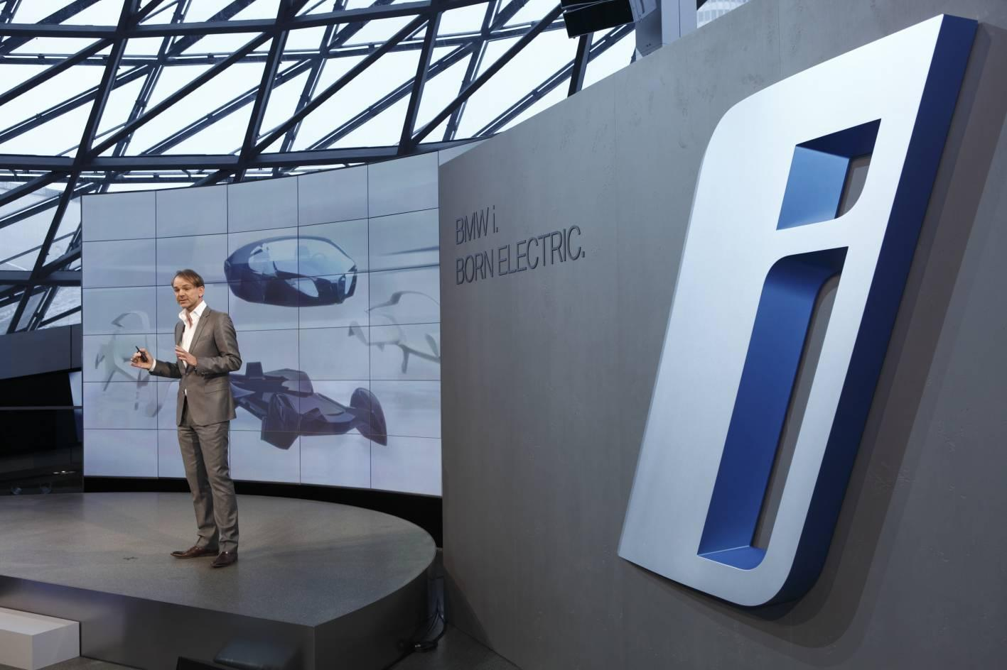 'Born Electric' BMW launched its new BMWi sub-brand in Munich on Monday