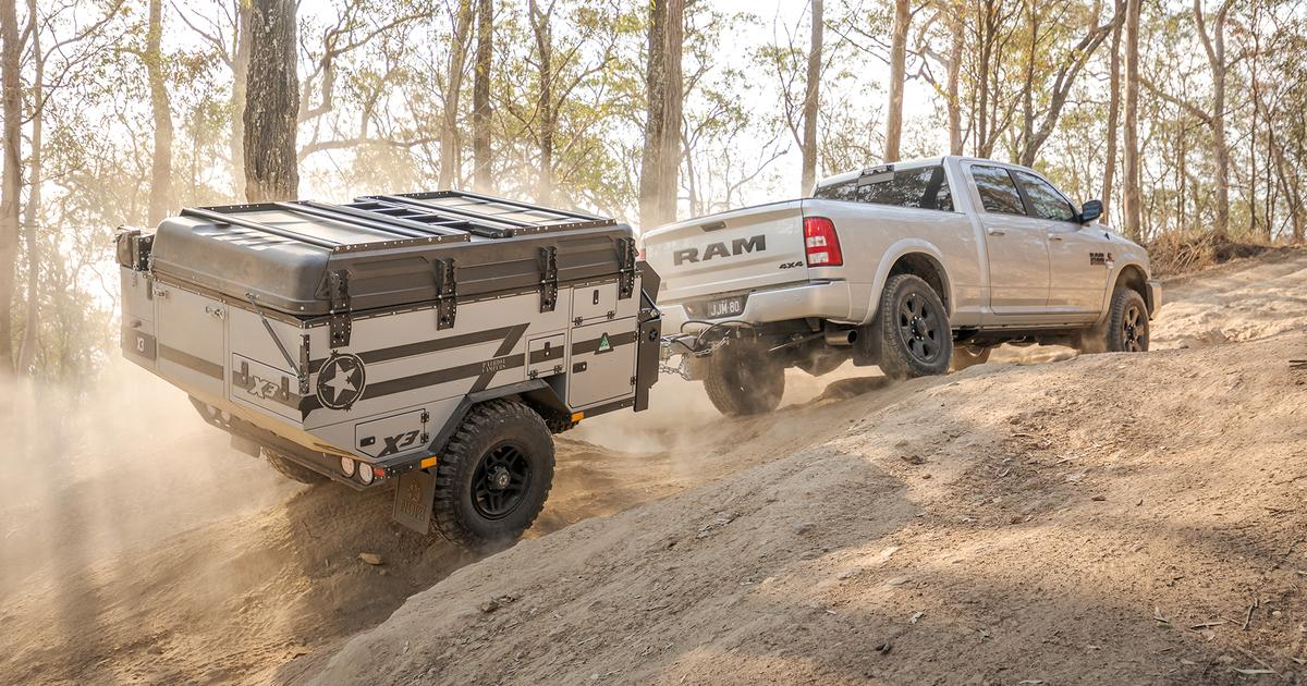 Patriot adds indoor comfort to ultra-rugged off-road camping trailer