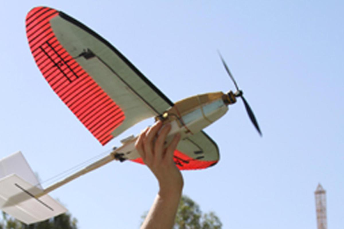 Engineers at UC San Diego are mimicking the movement of bird wings to help improve the maneuverability of unmanned aerial vehicles (UAVs)
