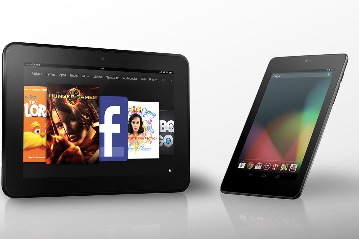 """How does the Kindle Fire HD 8.9"""" compare to the Nexus 7?"""