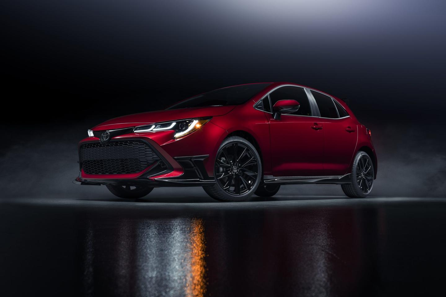 The new Special Edition of the 2021 Corolla Hatchback is mostly eye candy ... but what candy it is!