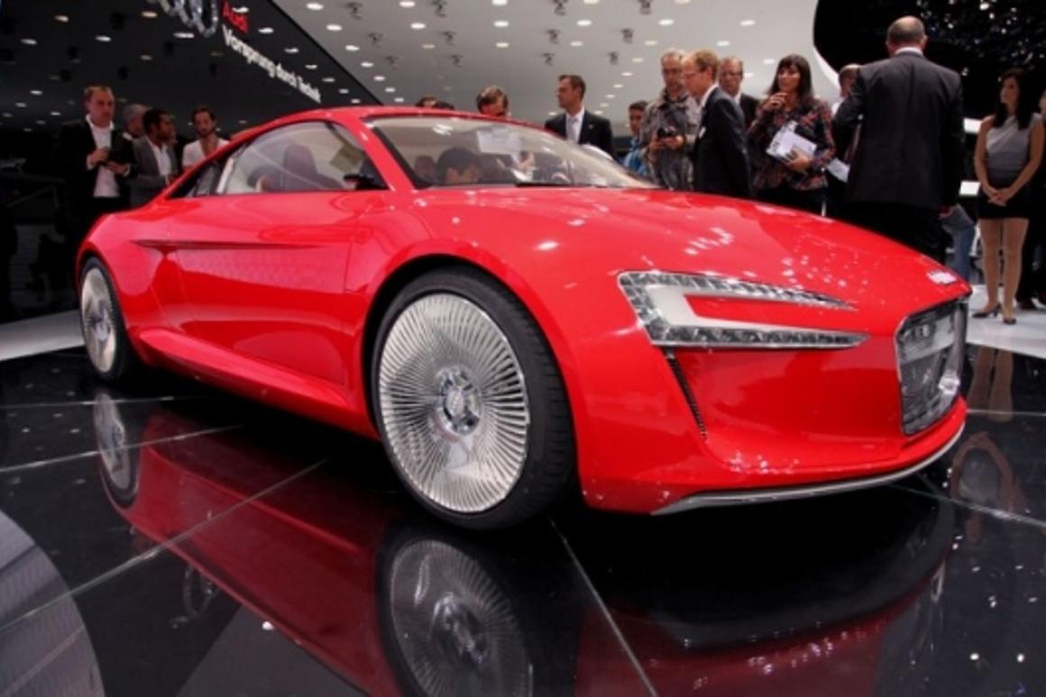 Audi e-tron electric Quattro on show at IAA 2009