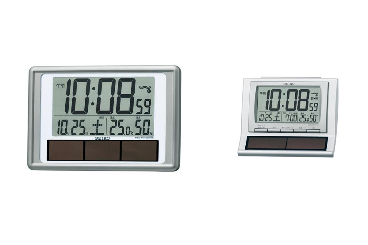Seiko's hybrid clocks that run on battery and solar power
