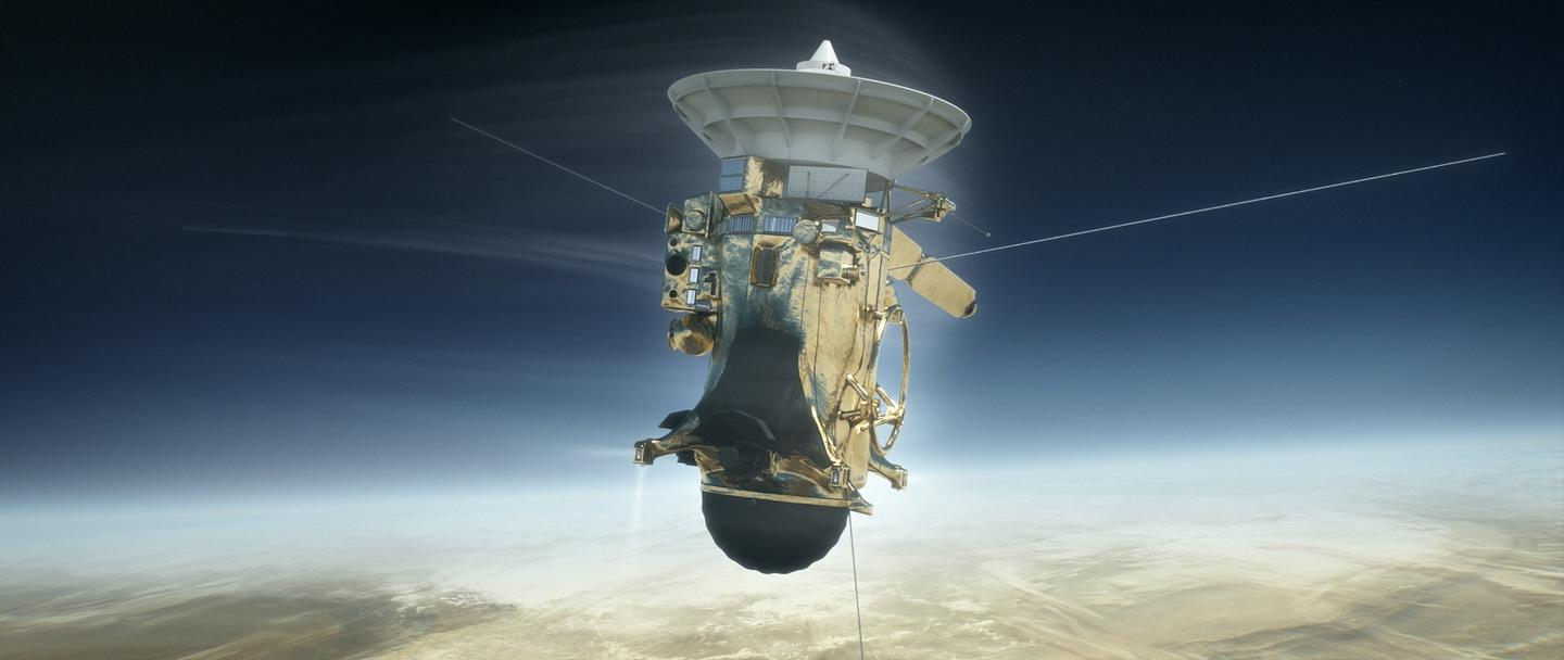 Cassini lifted off from Earth way back in 1997