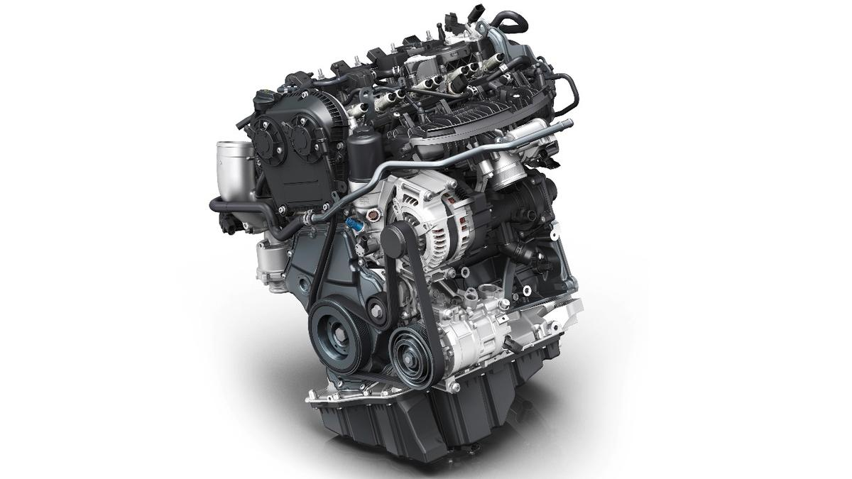 Audi has developed a new 2.0-liter engine with a revised combustion cycle for its new A4