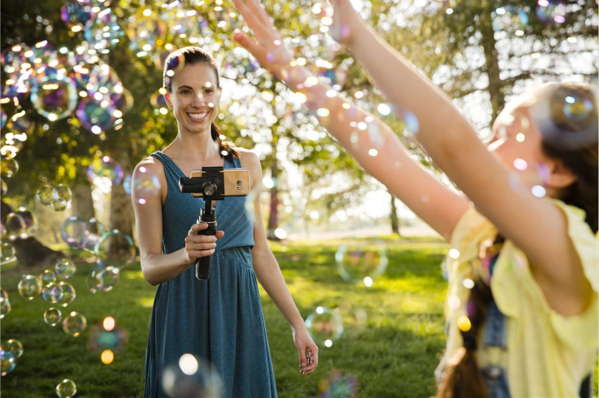 DJI's Osmo Mobile helps users smooth out their smartphone videos