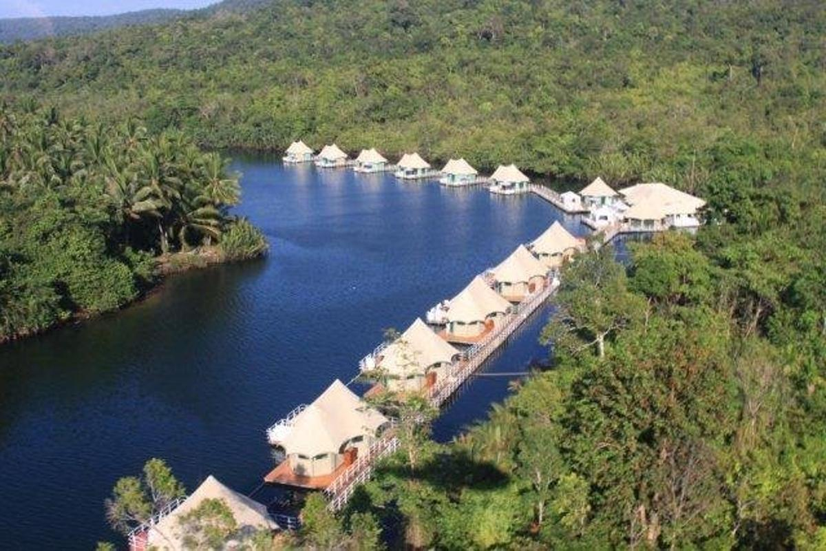 Traditionally an inhospitable region for tourists, Koh Kong is now open for business