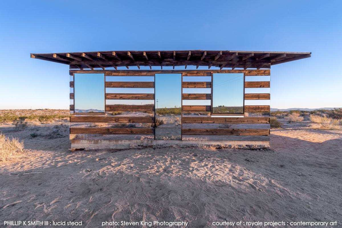 The Lucid Stead is based in Joshua Tree, rural San Bernadino County, California (Photo: Steve King/royale projects : contemporary art)