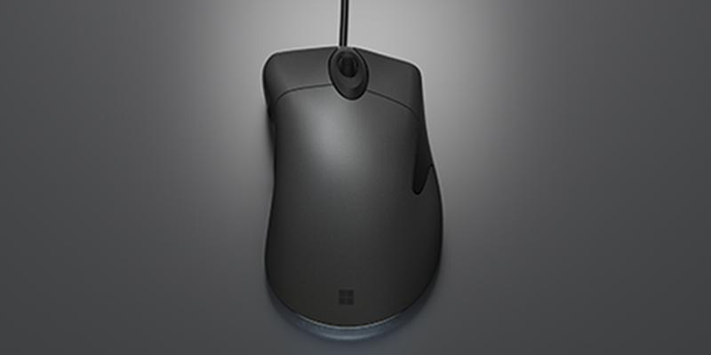 The Microsoft Classic IntelliMouse has the same ergonomic shape as the 2003 model, but updates the tracking, button switches and tail light