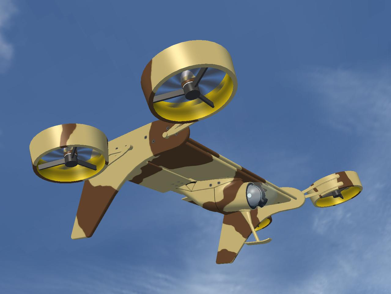 VTOL Technologies' Flying-Wing VTOL UAV