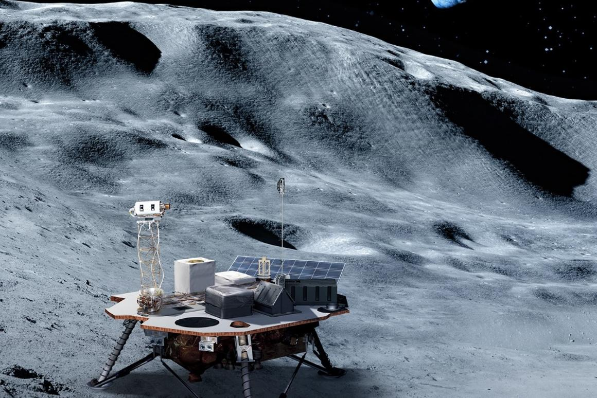 Commercial landers will carry NASA-provided science and technology payloads to the lunar surface, paving the way for NASA astronauts to land on the Moon by 2024