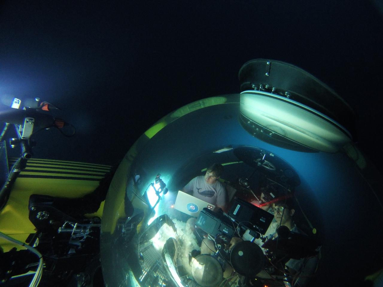 The technology has been put to the test aboard a three-person submarine in previously-unexplored ecosystems, deep in the ocean around the Fernando de Noronha Archipelago of Brazil