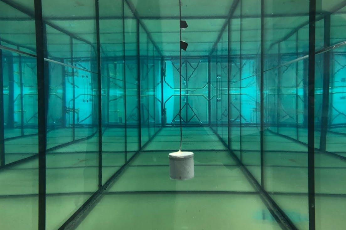 The system has already been successfully used to transmit data from within a water tank