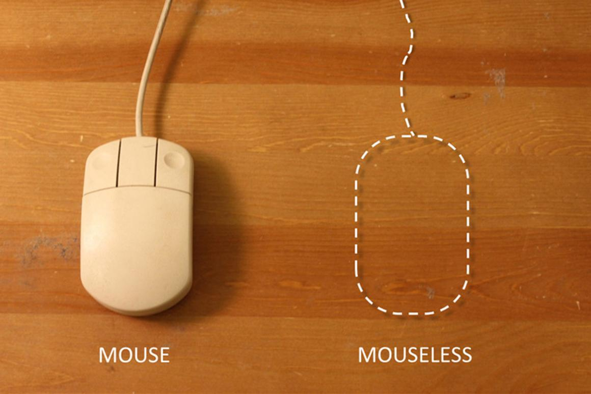 The Mouseless invisible mouse system is the next logical step in input periperhal development
