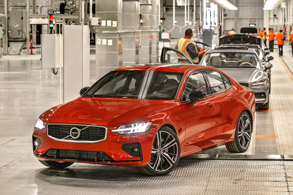 Along with the introduction of the S60, today marked the inauguration of the South Carolina plant