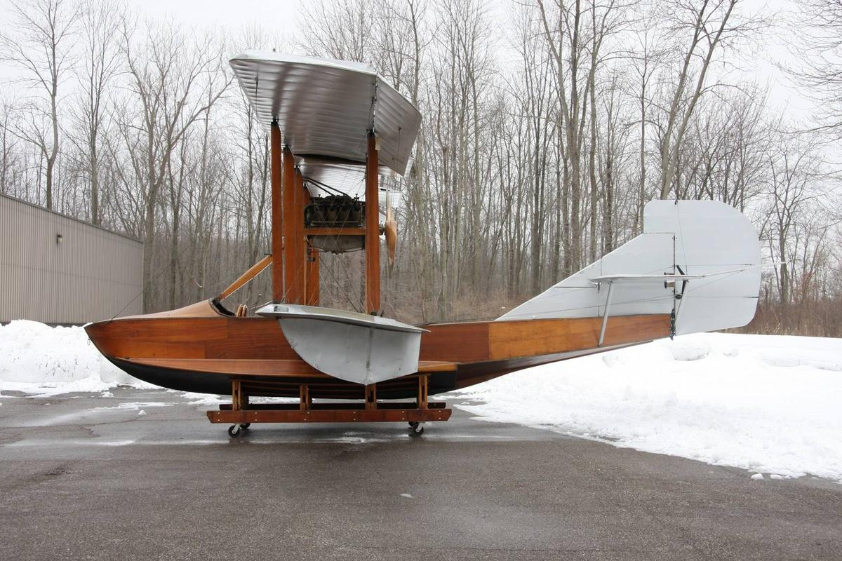 The Curtiss MF Seagull represents the era of flight, sailing, and engineering in one stunning piece of historyCredit: Courtesy of Bonhams