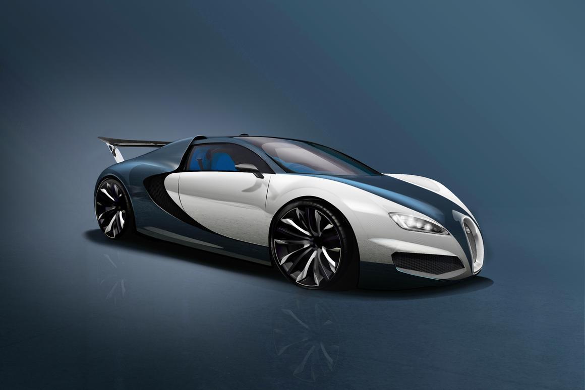 Autocar envisions the Bugatti Veyron successor