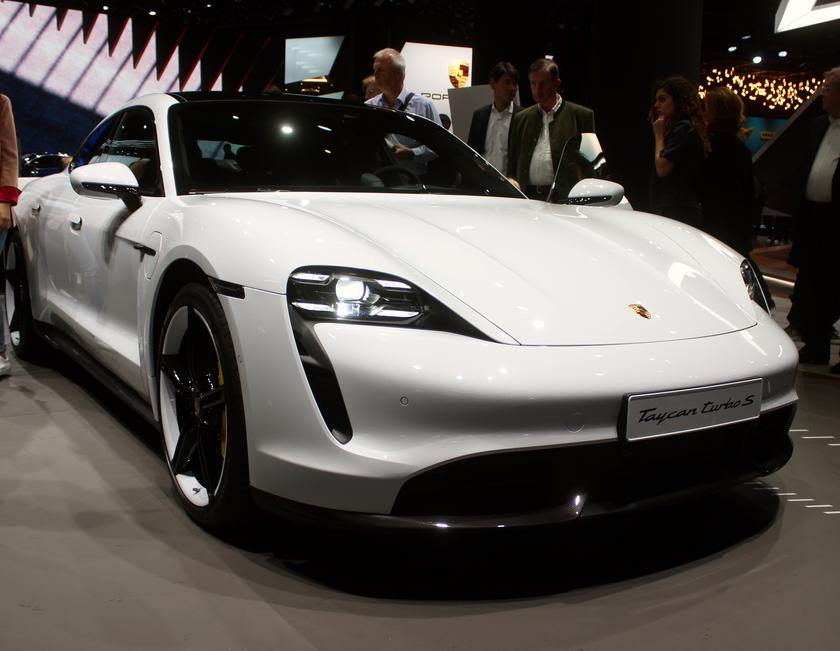 One of this year's most anticipated car debuts, the Porsche Taycan