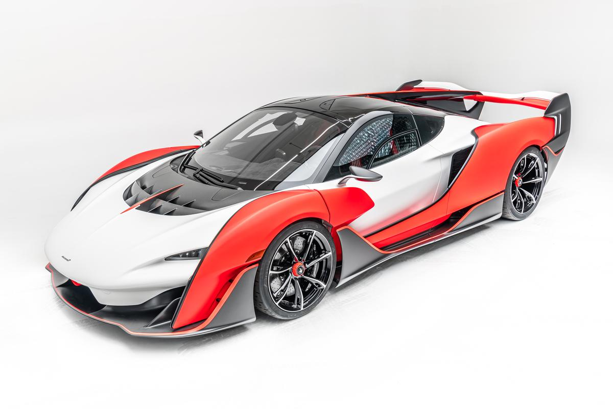 The attention-grabbing McLaren Sabre supercar