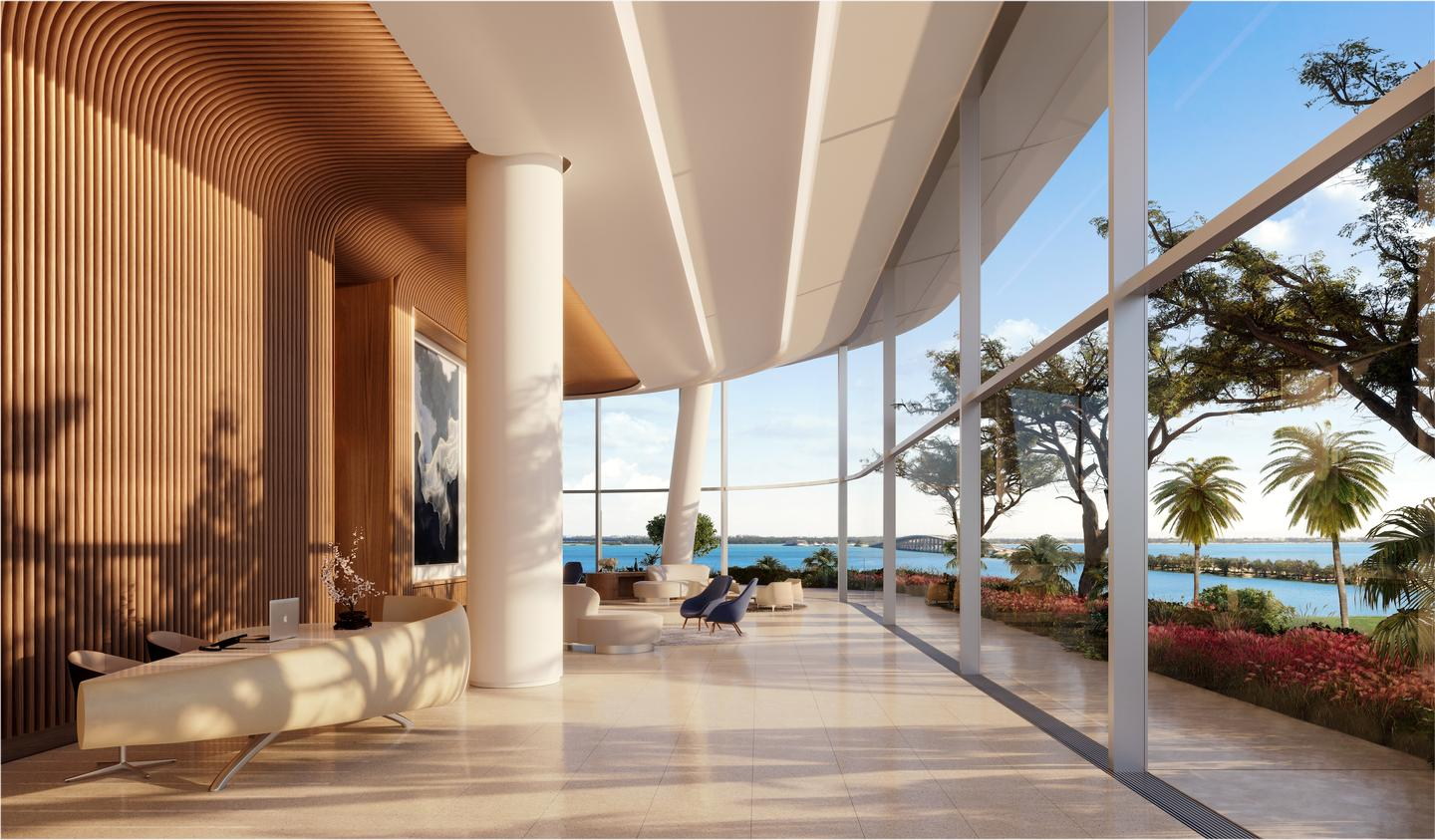Una Residences will contain a total 135 apartments over 47 floors
