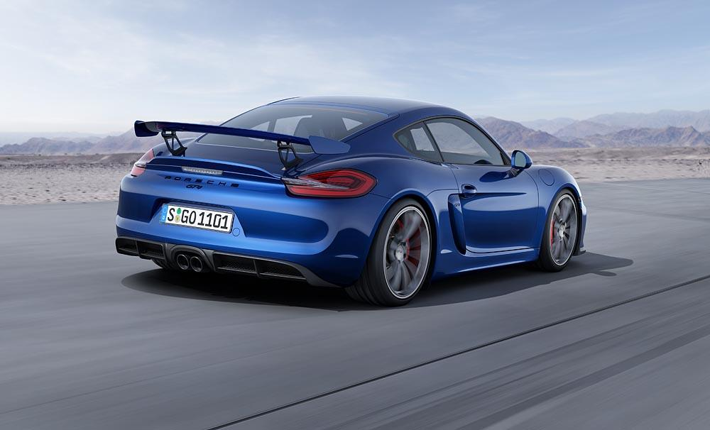 Porsche expects 80 percent of owners to take their GT4s to the track