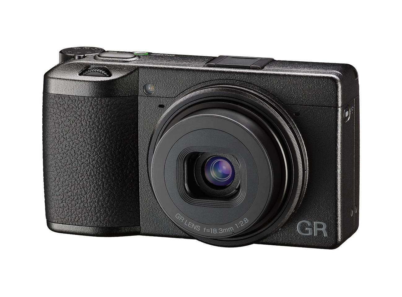 Image resolution gets a bump over the previous GR compact, but battery life takes a serious hit
