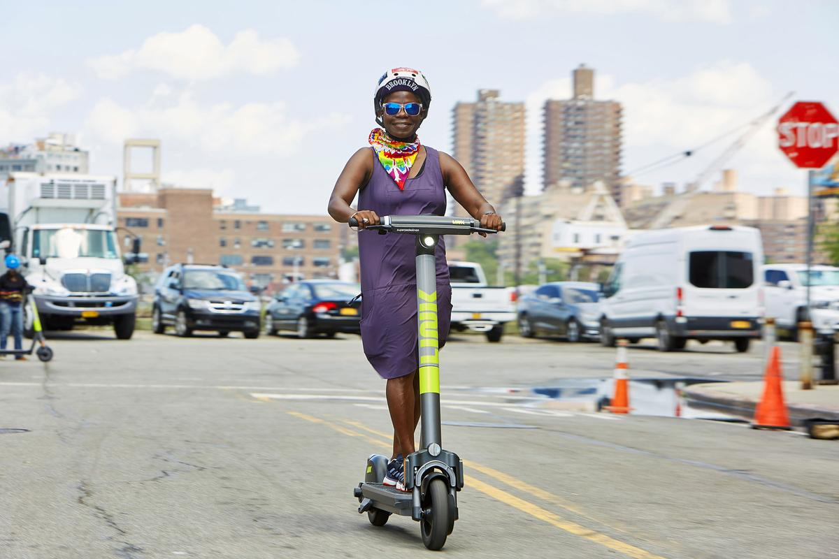 The Pedestrian Defense system will initially be integrated into Superpedestrian's Link shared electric scooters