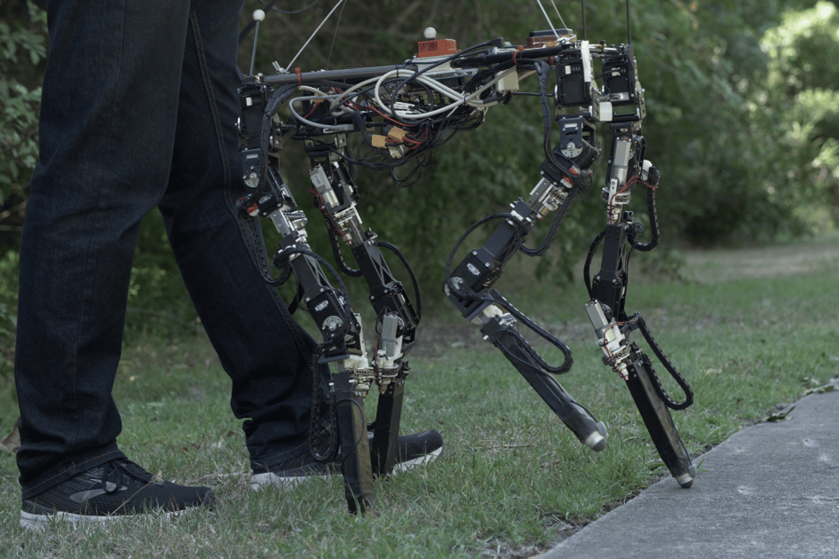 The team behind Dyret the adaptive robot has made the technology open source