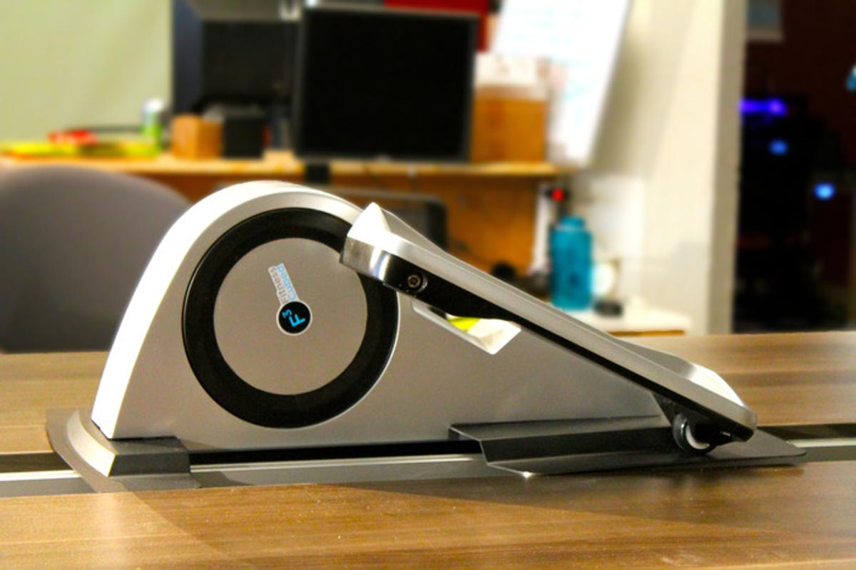 Cubii is a new under-desk elliptical trainer for helping people to keep fit while at work