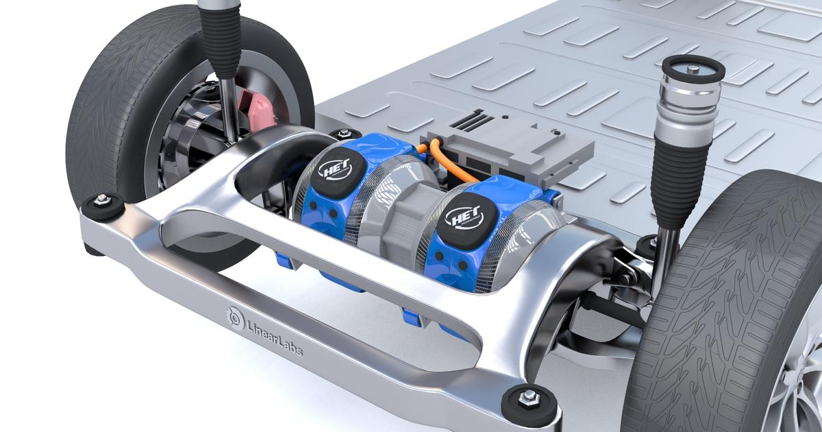 HET electric motor massively boosts power, torque and efficiency, reduces weight and complexity